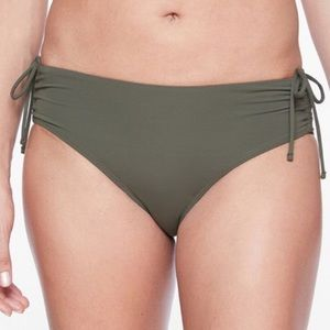 Athelta Scrunch Full Tide Bottom In Herb Olive